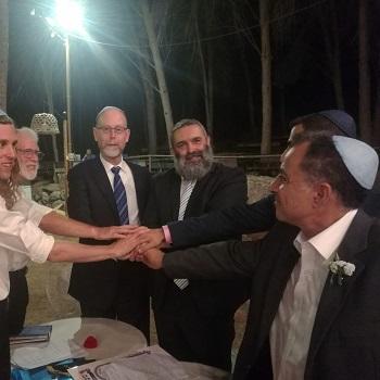 הרב אליעד סקורי עורך חופות וטקסים ומרצה לי